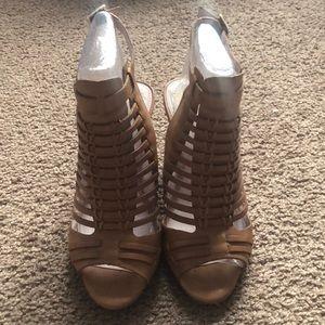 Vince Camino heeled tan sandal